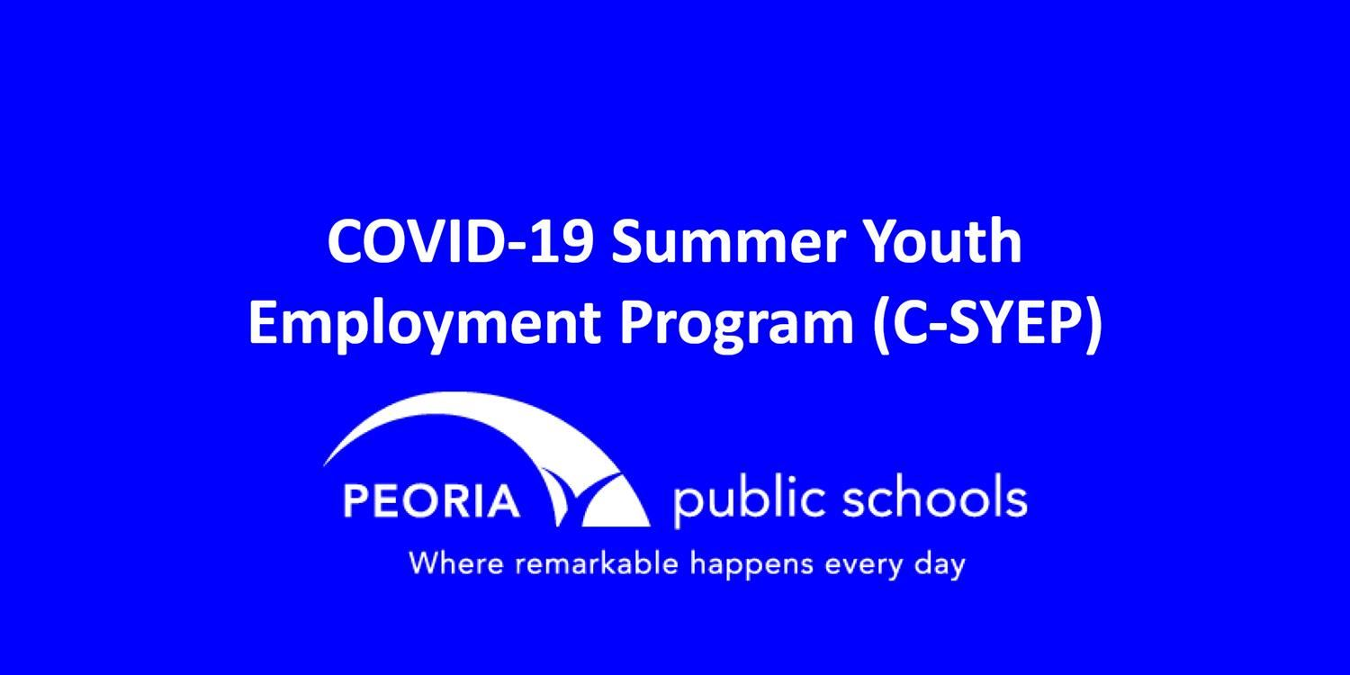 COVID-19 Summer Youth Employment Program