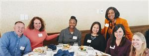 PPS winners, principals, Dr. Kherat at PNC luncheon