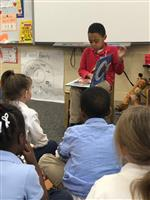 KINDERGARTENERS LEARN ABOUT BLACK HISTORY