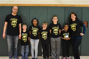Kellar's Lego Lightbulbs Shine at Competition