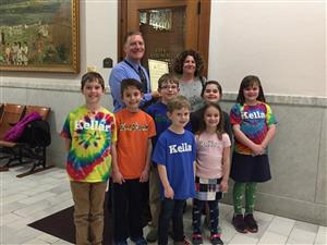 Kellar Guest Reader Week Honored at City Council Meeting