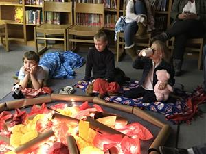 "Families come to School for a ""Night by the Fire"""