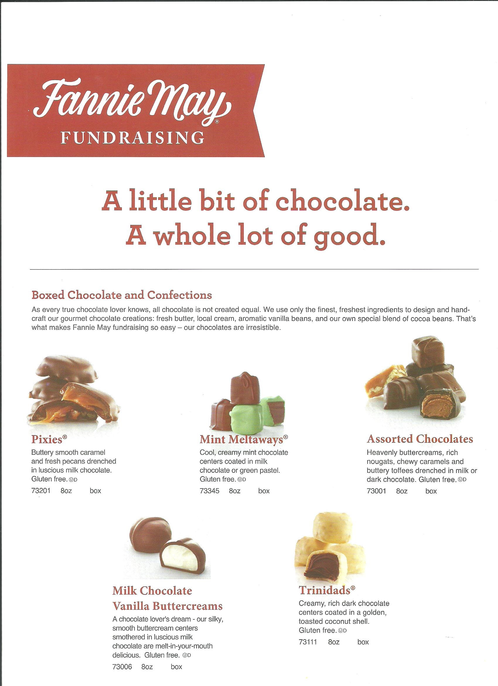 PTO Fannie May Candy Sale