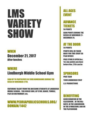 LMS VARIETY SHOW PBIS EVENT