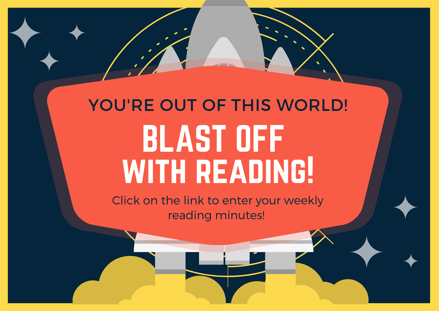 BLAST OFF with READING this SUMMER!!!