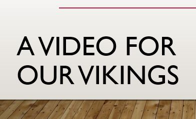 Vikings Video <3