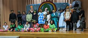 "Dr. Maude Sanders Drama Club presents ""The Wizard of Oz"""