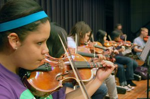 PPS Orchestra Students
