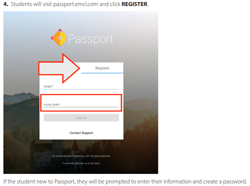 Passport Registration