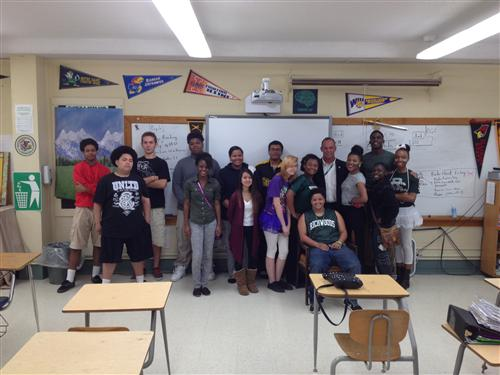 Mayor Ardis Visits AVID Students