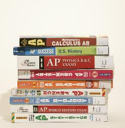 AP STACKED BOOKS