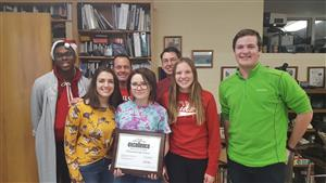 Congratulations to the Richwoods Yearbook Team