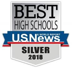Best High Schools - U.S. & World Report Silver Medal 2017