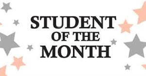 PBIS Students of the Month