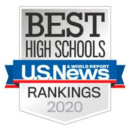 Best High Schools - U.S. & World Report Silver Medal 2020