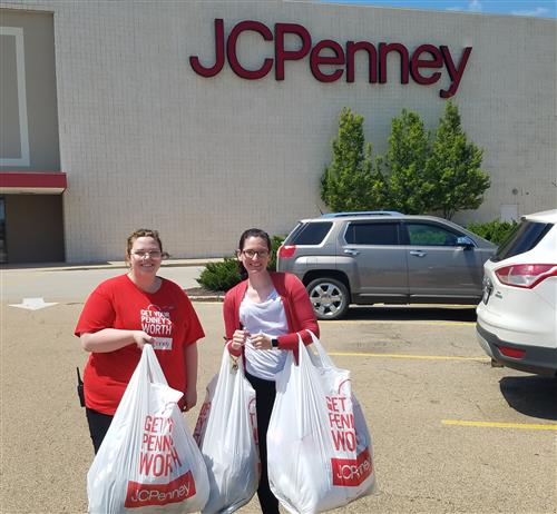 Huge thank you to JC Penney and the fantastic staff!  The Round Table appreciates your continued support for our children!