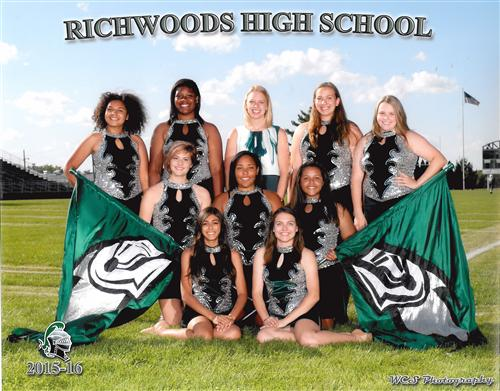 2015-2016 Richwoods Flag Corps
