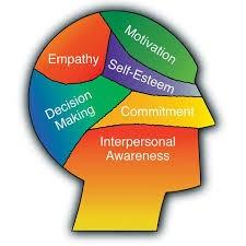 empathy, motivation, self-esteem, decision making, commitment, interpersonal awareness