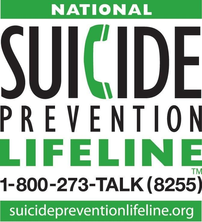 suicide prevention hotline english