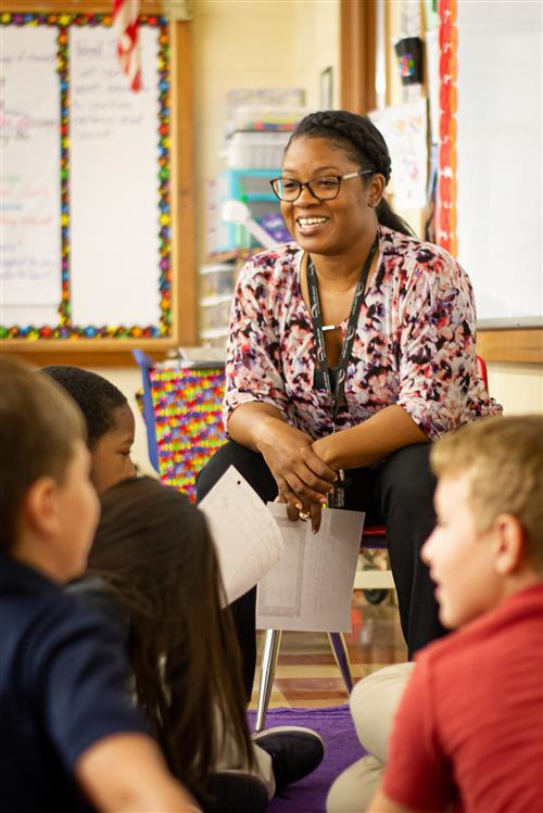 Marricea Page, a 4th grade teacher in PPS