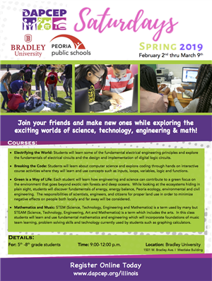 DAPCEP STEM Program at Bradley University