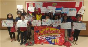 Glen Oak students created posters for Red Ribbon week