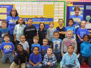 Hines Supports Colon Cancer Awareness Month Wear Blue Day