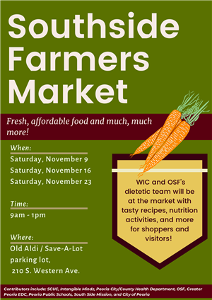 Southside Farmers Market flyer