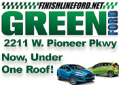Green Ford Now under one roof!