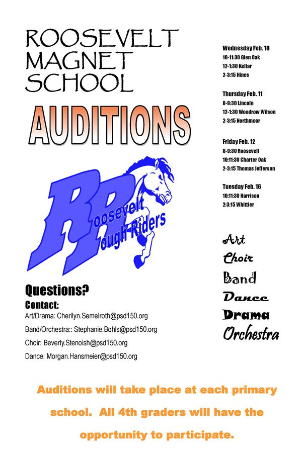 RMS Auditions