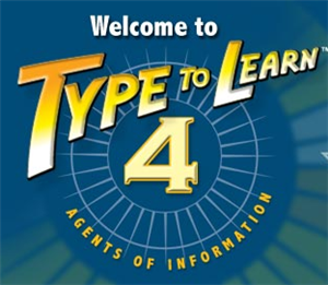 Since the 2013-2014 school year, the district will provide Type to Learn 4 (web) for all students to learn typing. This program can be run on district computers and from home computers.  Typing is an